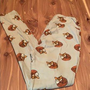 Lularoe fox leggings